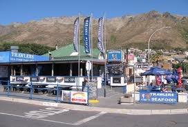 Trawlers - Gordons Bay  Best Calamari around