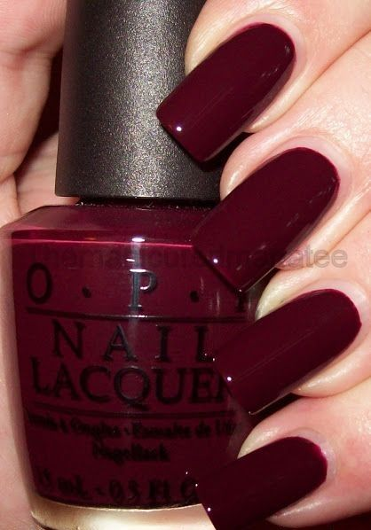 15 Best Opi Nail Polish Shades And Swatches Cute Nails Nails Opi Nails Wine Nails