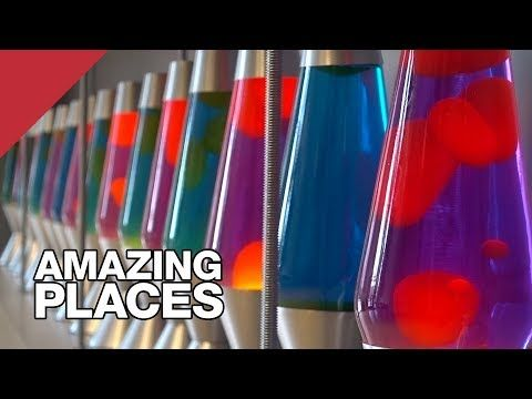 The Lava Lamps That Help Keep The Internet Secure - YouTube