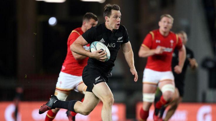 Ben Smith (Nouvelle-Zélande) face au pays de Galles - 11 juin 2016