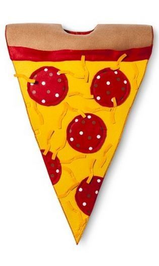 More cheese, please! You cant' go wrong with a pizza Halloween costume for kids.