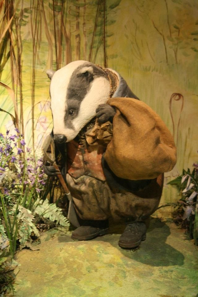 badger Tommy Brock from 'The World of Beatrix Potter'