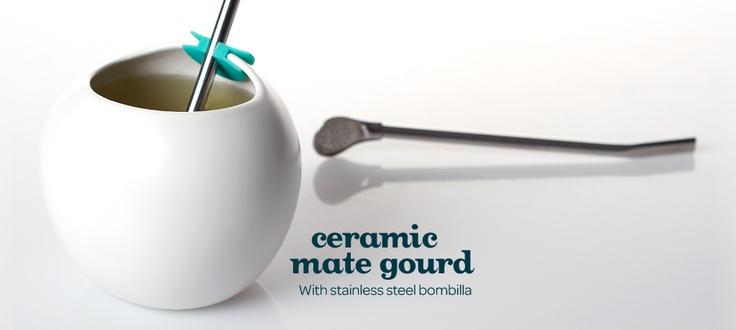 Ceramic Maté Gourd by DavidsTea