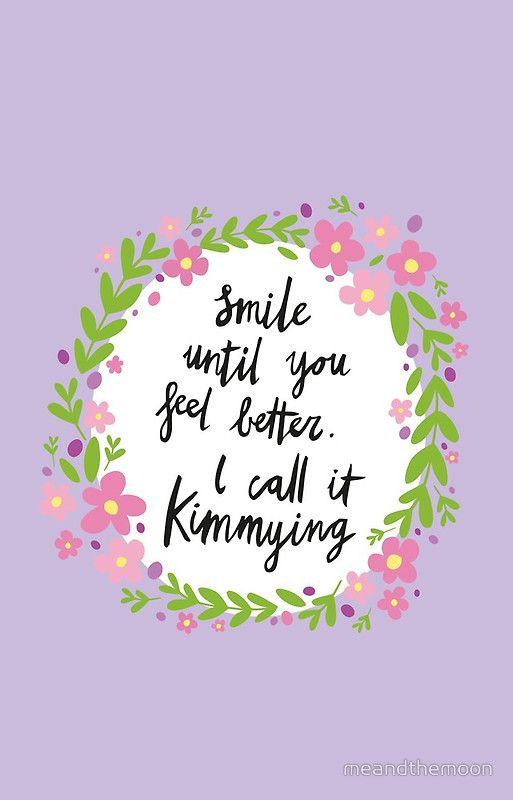 Kimmying  Unbreakable Kimmy Schmidt quote