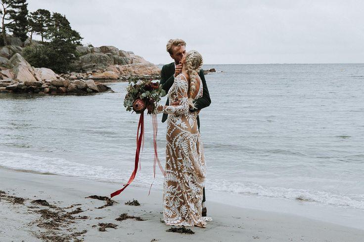 Real wedding // Avril Gown // Rue de Seine