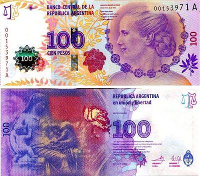 Argentina $100 Pesos - Eva Perón