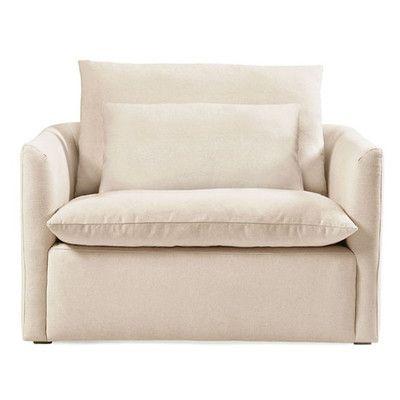 Volo Design, Inc Cameron Armchair Color: Oatmeal linen