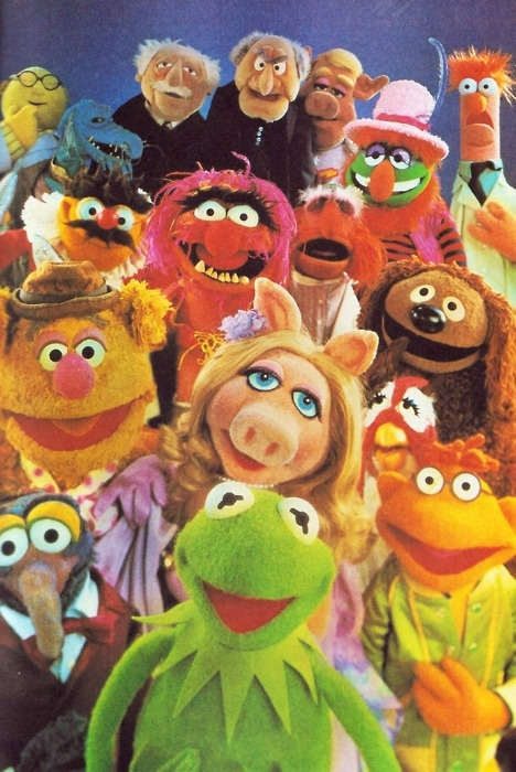 the muppets of sesame street ...