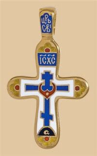 Деревянные кресты ручной работы - Изготовление и установка крестов в Москве: Крест Голгофский с цатой - Криптограмма ВВВВ