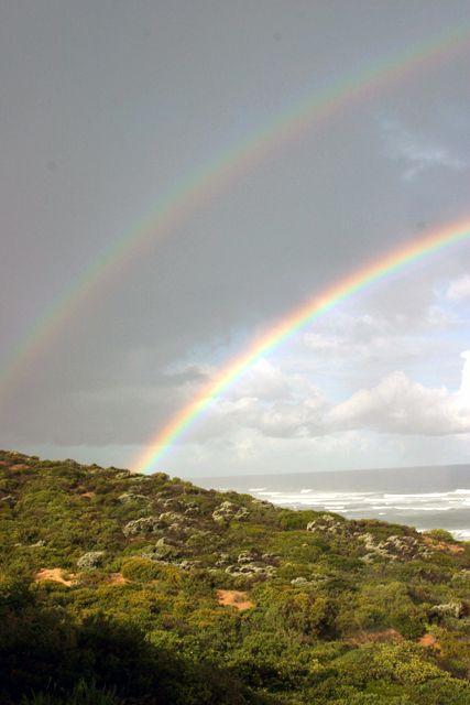 Rainbow in the fynbos http://www.perfecthideaways.co.za/Details/Summerhill?Itemid=