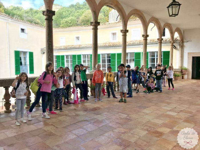 Salida a la Granja de Esporles, un museo que muestra cómo se vivía en Mallorca hace 400 años.