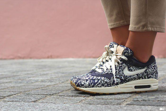 Street Look Eastpak Animal-Nike Liberty
