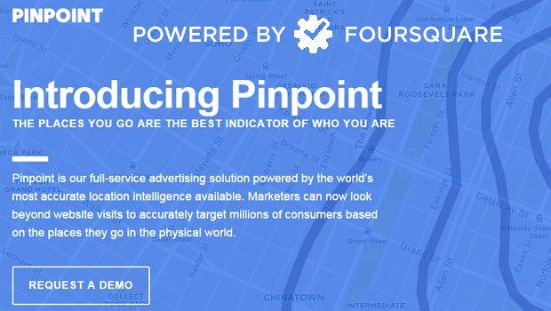 Νέο εργαλείο για τους #advertisers δημιούργησε το Foursquare : το #Pinpoint. #socialmedialife #advertising #platform #socialnetwork #socialmedia