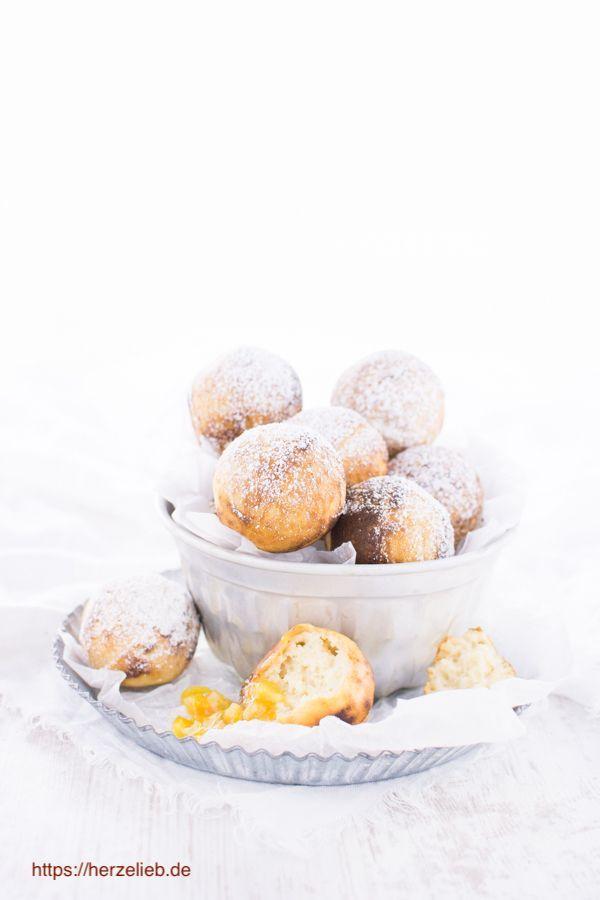 Dänische Rezepte: Æbleskiver aus Dänemark - Rezept von herzelieb #deutsch #foodlbog #foodlbogger #backe