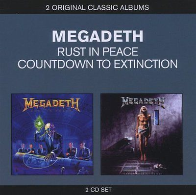Megadeth : classic #albums: #countdown to extinction/rust in peace #(3cds) (2012),  View more on the LINK: http://www.zeppy.io/product/gb/2/301769961896/