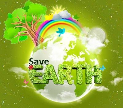 Happy World Environment Day. Celebrate the beauty of the Earth and help to improve it.