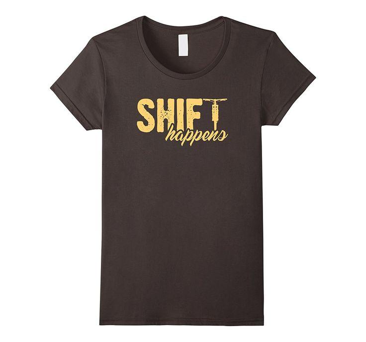 Shift Happens Mountain Bike T shirt Fat Bike Shirt
