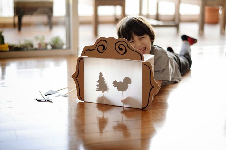 Need to make this shadow theatre right now!