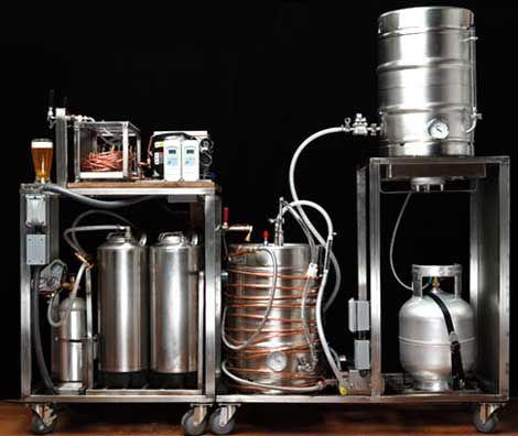 layout cervejaria artesanal