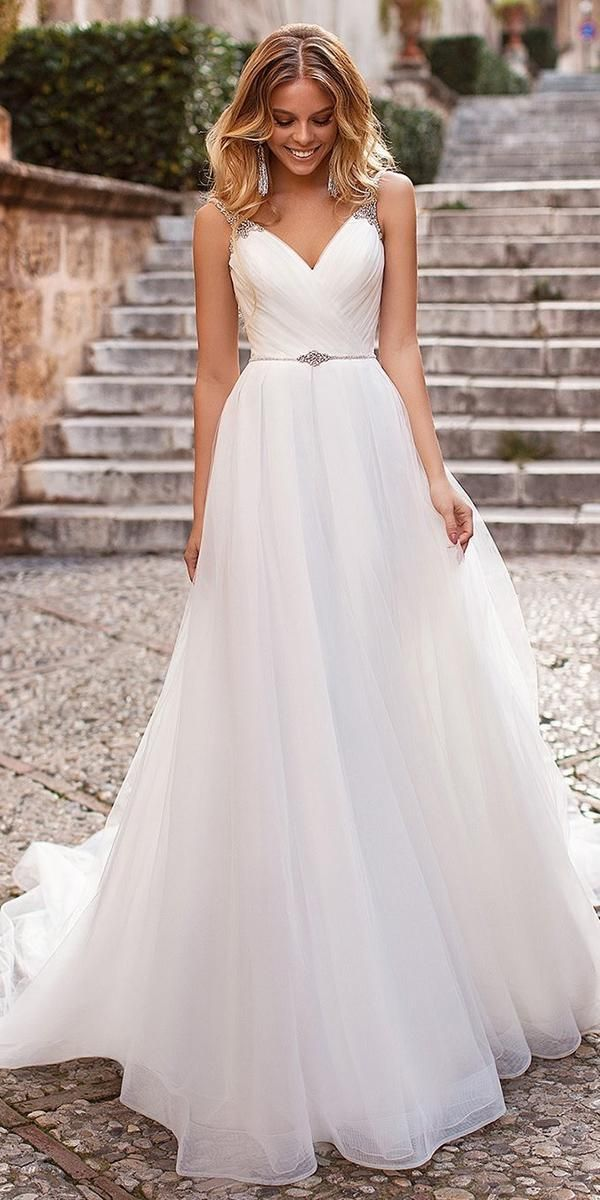 30 Cute Modest Wedding Dresses To Inspire Wedding Forward In 2020 V Neck Wedding Dress Wedding Dresses Simple Elegant Wedding Dress,Fashion Casual Wedding Dresses In Pakistan