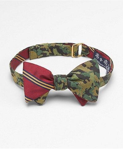 men's camo bow tie
