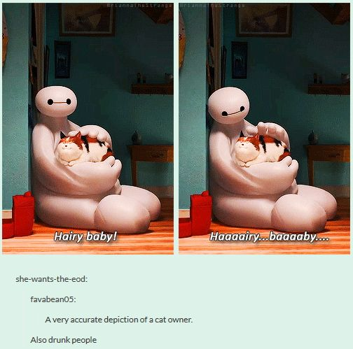 Big Hero 6 - Hairy Baby! My daughter laughs every time she sees this or hears someone say it!