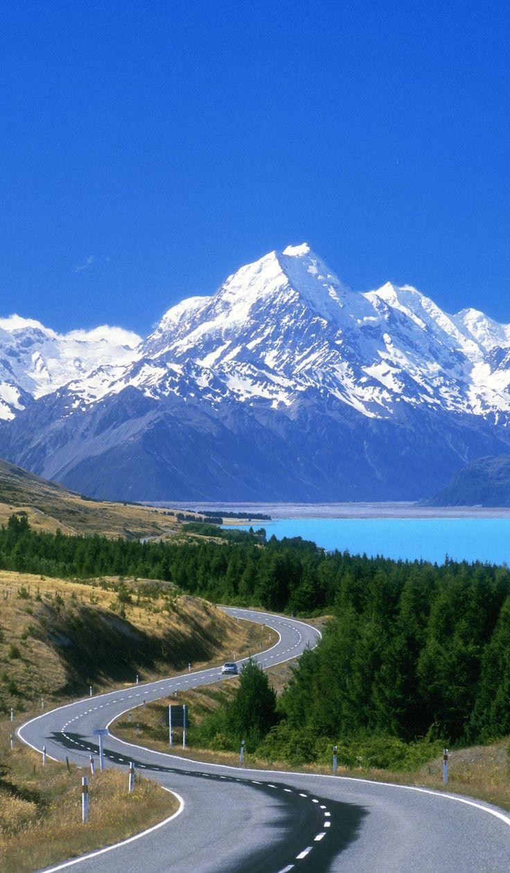 New Zealand - Mount Cook - Scenic Road