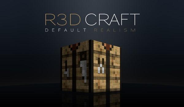 R3D Craft Texture Pack para Minecraft 1.3.2