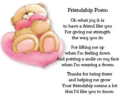 Popular Poems About Friendship   Famous Quotes 4U- Inspirational Friendship Quotes