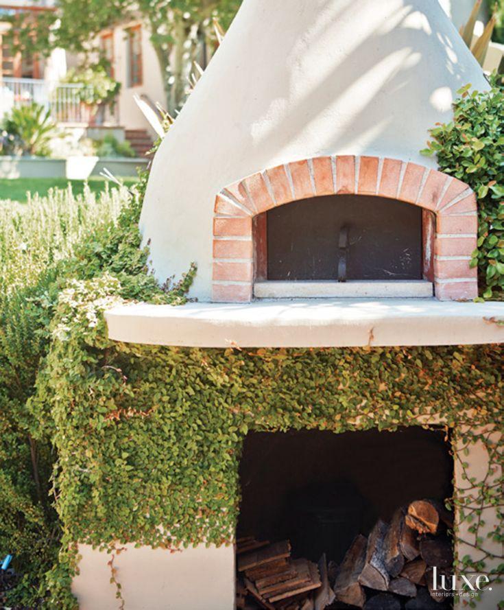 Neutral brick pizza oven for the garden pinterest