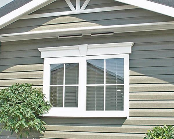 Exterior Window Trim Options