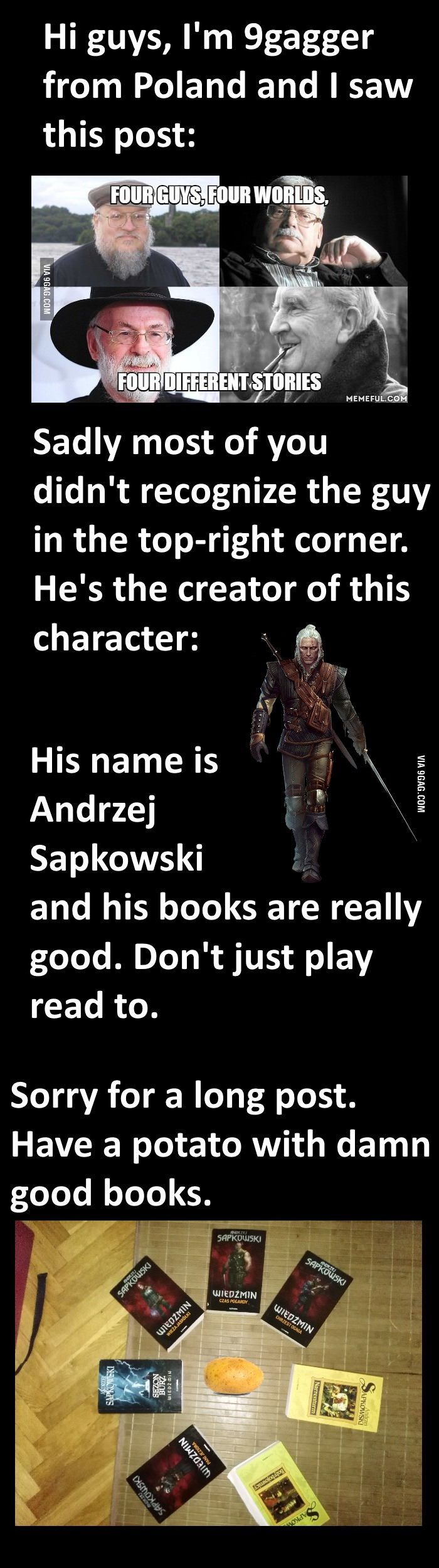 GAGBAY - With all the Witcher hype nowadays