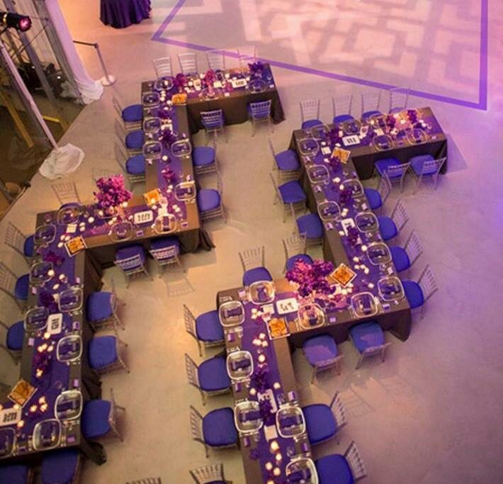 At The Hangar we are all about using space creatively and creating the most beautiful tables/table arrangements imaginable! #HangarAtStanley
