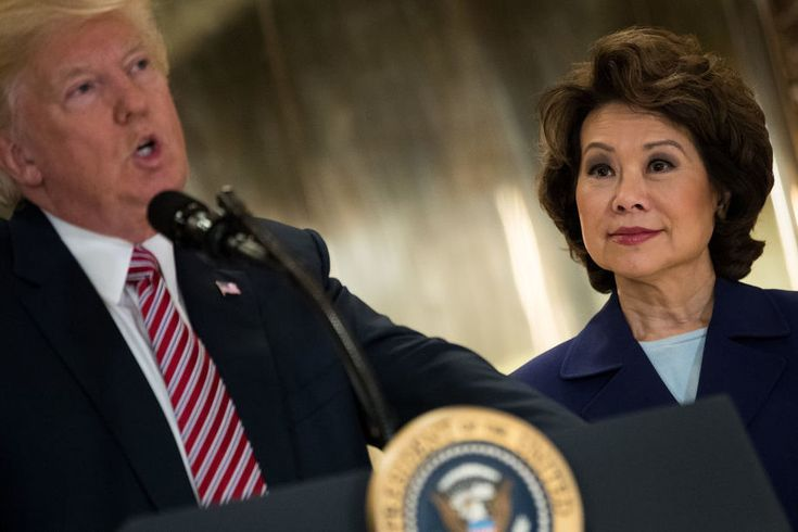 Donald Trump's Swamp Swells: Elaine Chao Used Taxpayer-Funded Executive Aircraft, Billed At $5000/hr  Transportation Secretary Elaine Chao joins Tom Price and many others in Donald Trump's ever-growing swamp. These people areliterally stealing from taxpayers.    While ElaineChao was luxuriating on executive flights that costtaxpayers thousands of...