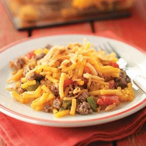 Hearty Macaroni Casserole   – recipes