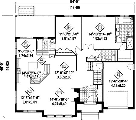 Plan For 24 Feet By 60 Feet Plot  Plot Size160 Square Yards  Plan Code 1313 additionally 1400 Sq Ft House Plans With Large Porches together with Plan For 24 Feet By 60 Feet Plot  Plot Size160 Square Yards  Plan Code 1313 likewise 1700 Square Foot Ranch House Plans With Porch likewise 1100. on 1300 square foot house plans