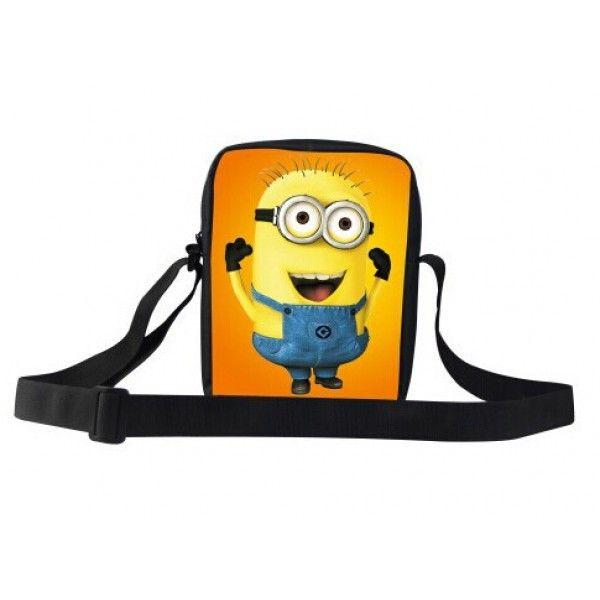 Minions taske med flot motiv og god plads til en iPad mini