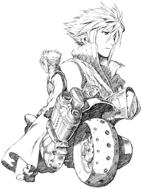 final fantasy character coloring pages - photo#36