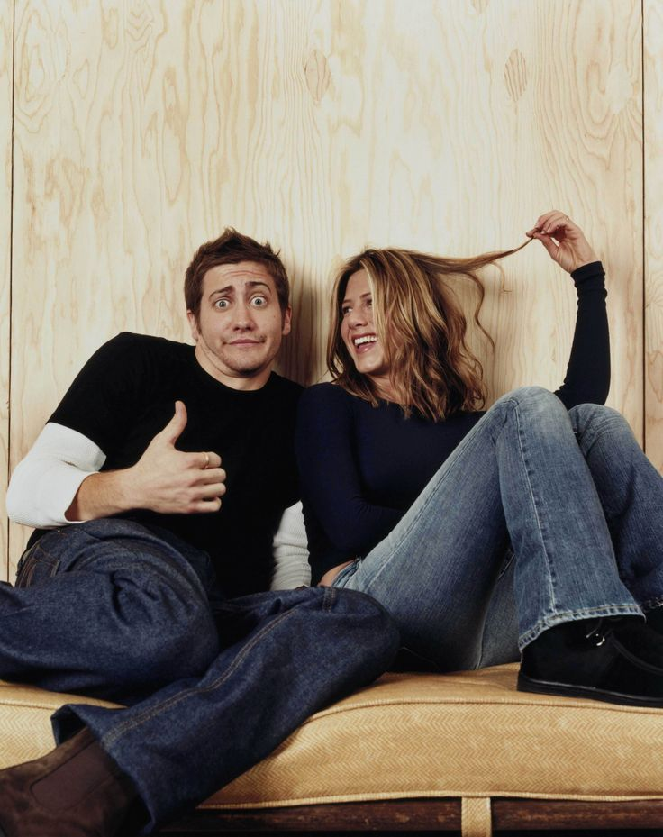 Jake Gyllenhaal and Jennifer Aniston for The good girl directed by Miguel Arteta, 2001