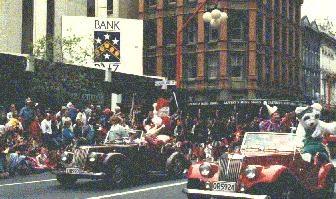 Farmers Santa Parade