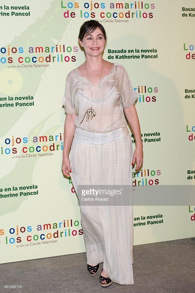 Photo d'actualité : French actress Emmanuelle Beart attends the 'Los...