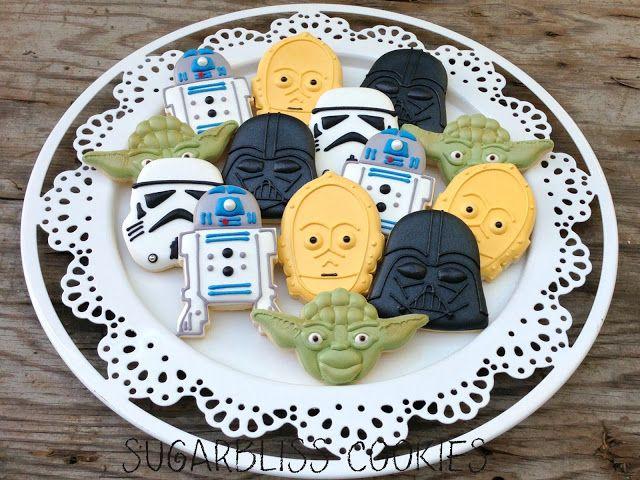 76 best Star Wars sugar cookies images on Pinterest Star wars