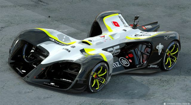 How long before a driverless car wins the Indianapolis 500? This is the Roborace driverless race car. Obviously they think it will be happening very soon.