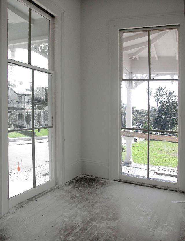 Full length windows doors brings the
