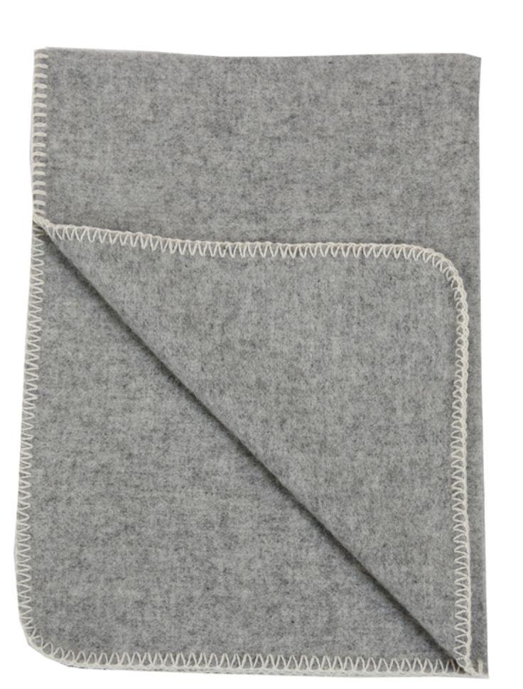 Kjøp Klippan Teppe Soft Wool Baby Lysegrå | Jollyroom