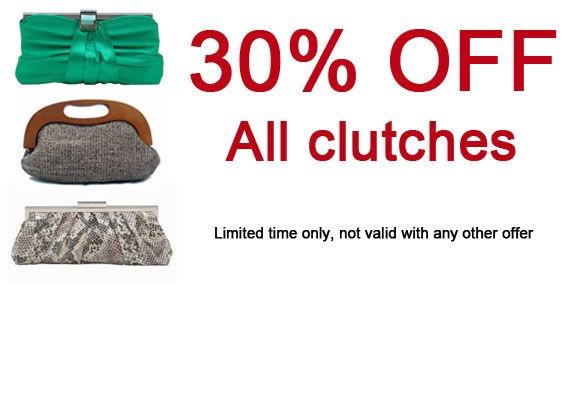 Clutch sale at Piper Jordan
