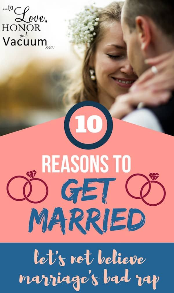 To get marry or to get married