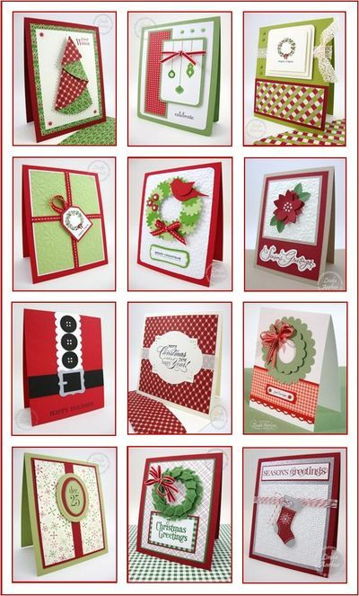 CHRISTMAS CARDS... - Stampin' Up! Demonstrator - Linda Aarhus - Simple to Sublime!