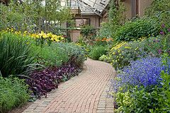 Land scaping ideas with flowering plants