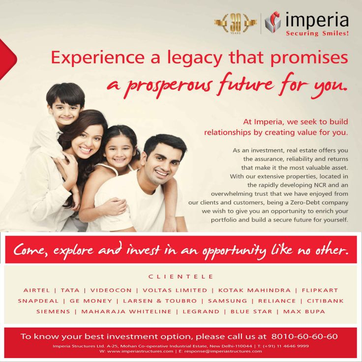 At Imperia, we seek to build relationship by creating value for you.  #ImperiaStructures #SecuringSmiles